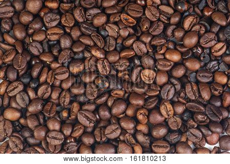 Cofee  beans isolated on white background. Aromatic cofee