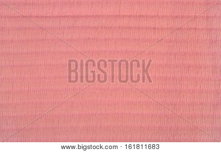 Pink Pleated Transparent Caprone Cloth As Background Texture