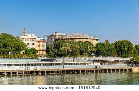 The Teatro de la Maestranza, an opera house in Seville - Spain, Andalusia
