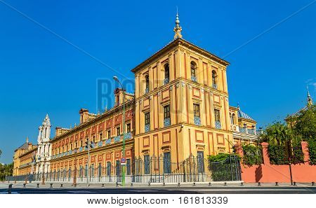 The Palace of San Telmo in Sevilla - Spain, Andalusia