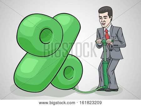 The percentage increase in the easiest way to increase profit.