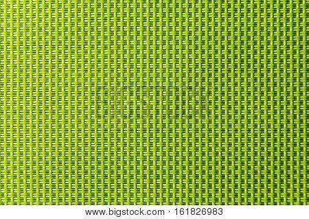 Fibres of a plastic cloth photographed close up