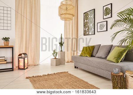 Room With Sofa And Window