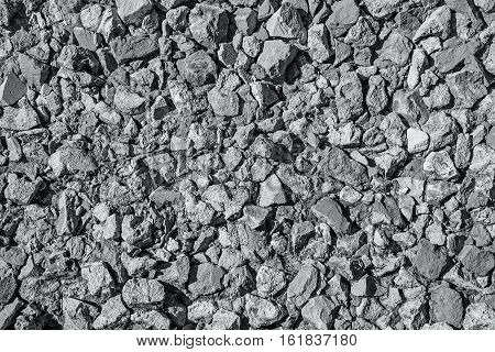 Background Of Chipped Stones Wall Texture