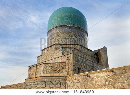 Tilya Kori Madrasah - the part of Registan complex, Samarkand, Uzbekistan
