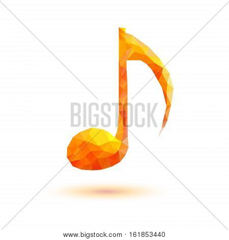 Vector Quaver Note Symbol