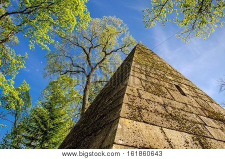Tsarskoye Selo. Saint-petersburg. Pyramid.