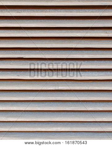 dark brown shutters closeup natural wood background