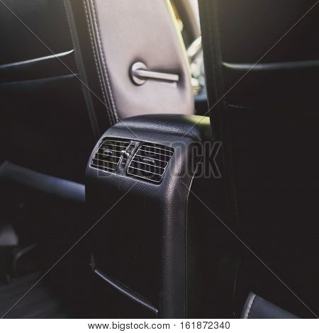 air conductor car - air condition close up