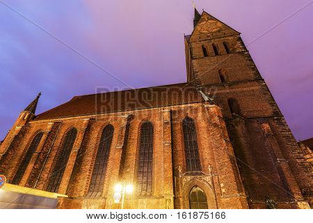 Marktkirche in Hanover. Hanover Lower Saxony Germany