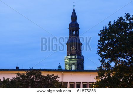 Church of the Cross in Hanover. Hanover Lower Saxony Germany.