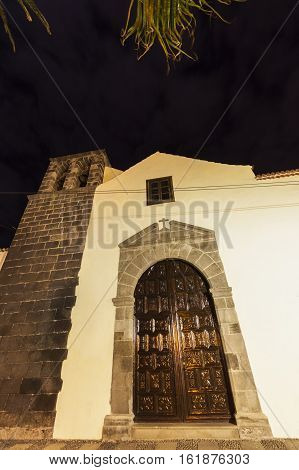 San Francisco Church in Puerto de la Cruz. Puerto de la Cruz Tenerife Canary Islands Spain.