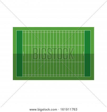 field american football grass vector illustration eps 10