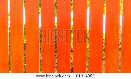 Cement board plank fence can be used as background