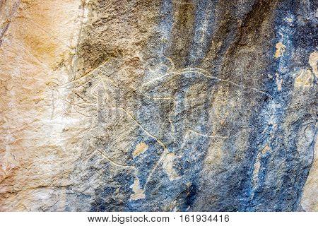 Gobustan Petroglyphs, Azerbaijan