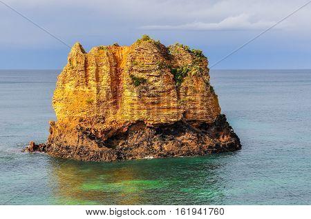 Islet Near The Coast On The Great Ocean Road, Australia