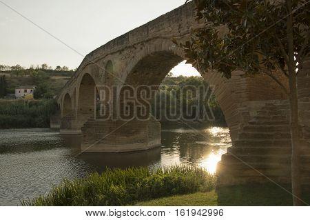 Camino de Santiago from Pamplona to Puente la Reina