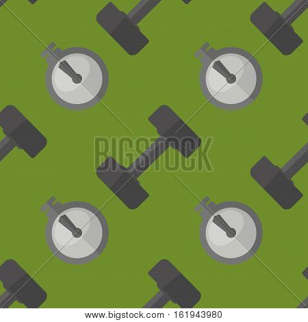 Healthy lifestyle seamless pattern. Vector wellness concept flat pattern.