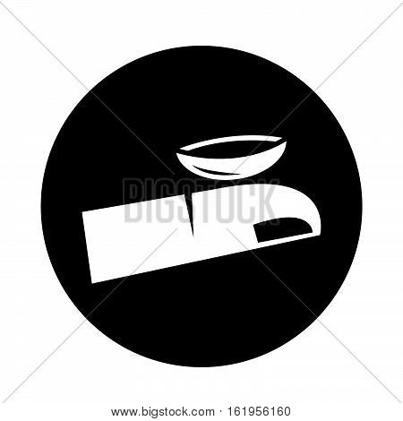 an images of Contact Lens icon illustration design
