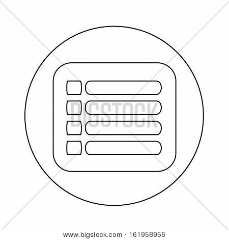 an images of expand menu icon illustration design