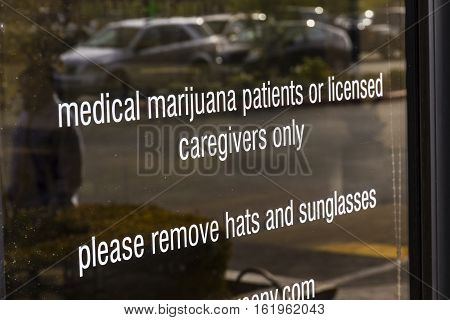 Henderson - Circa December 2016: The Source Las Vegas Medical Marijuana Dispensary. In 2017 Recreational Pot will be legal in Nevada III