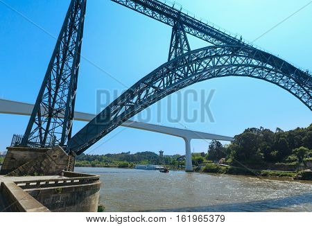 Bridges In Porto, Portugal.