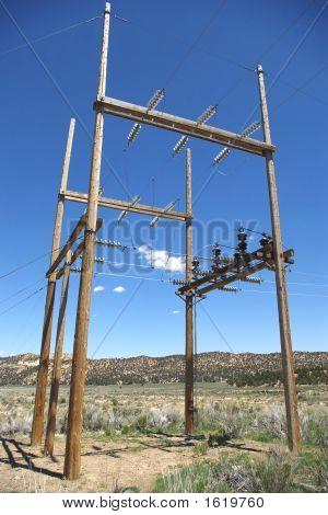 Wooden Substation