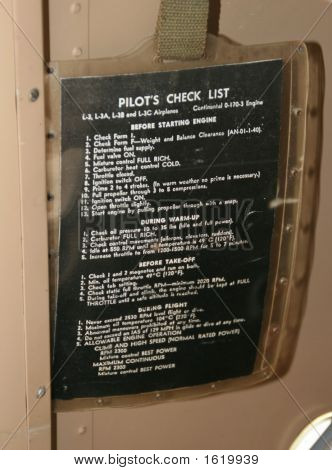 Checklist85