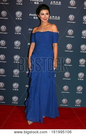 LOS ANGELES - DEC 15:  Sterling Zhang at the 21st Annual Huading Global Film Awards - Arrivals at The Theatre at The ACE Hotel on December 15, 2016 in Los Angeles, CA