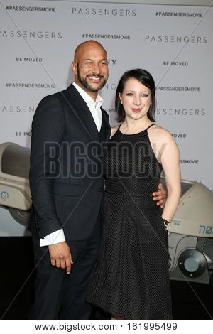 LOS ANGELES - DEC 14:  Keegan-Michael Key, Elisa Pugliese at the