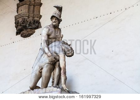 Statue Menelaus Supporting The Body Of Patroclus
