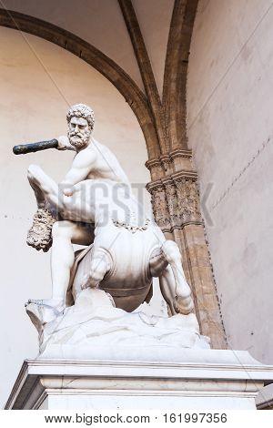 Hercules And Nessus On Piazza Della Signoria