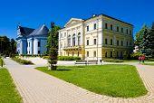 Town Hall Square, Spisska Nova Ves, Slovakia poster
