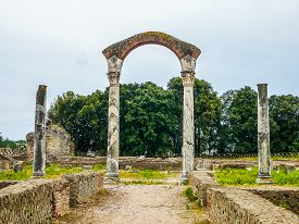 Hdr Ruins Of Minturnae, Italy