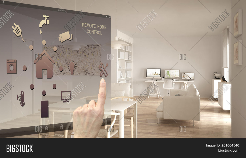 Smart Home Control Image & Photo Free Trial   Bigstock