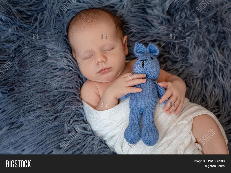 c7be9023d7b7 Newborn Baby Boy Bed. Image   Photo (Free Trial)
