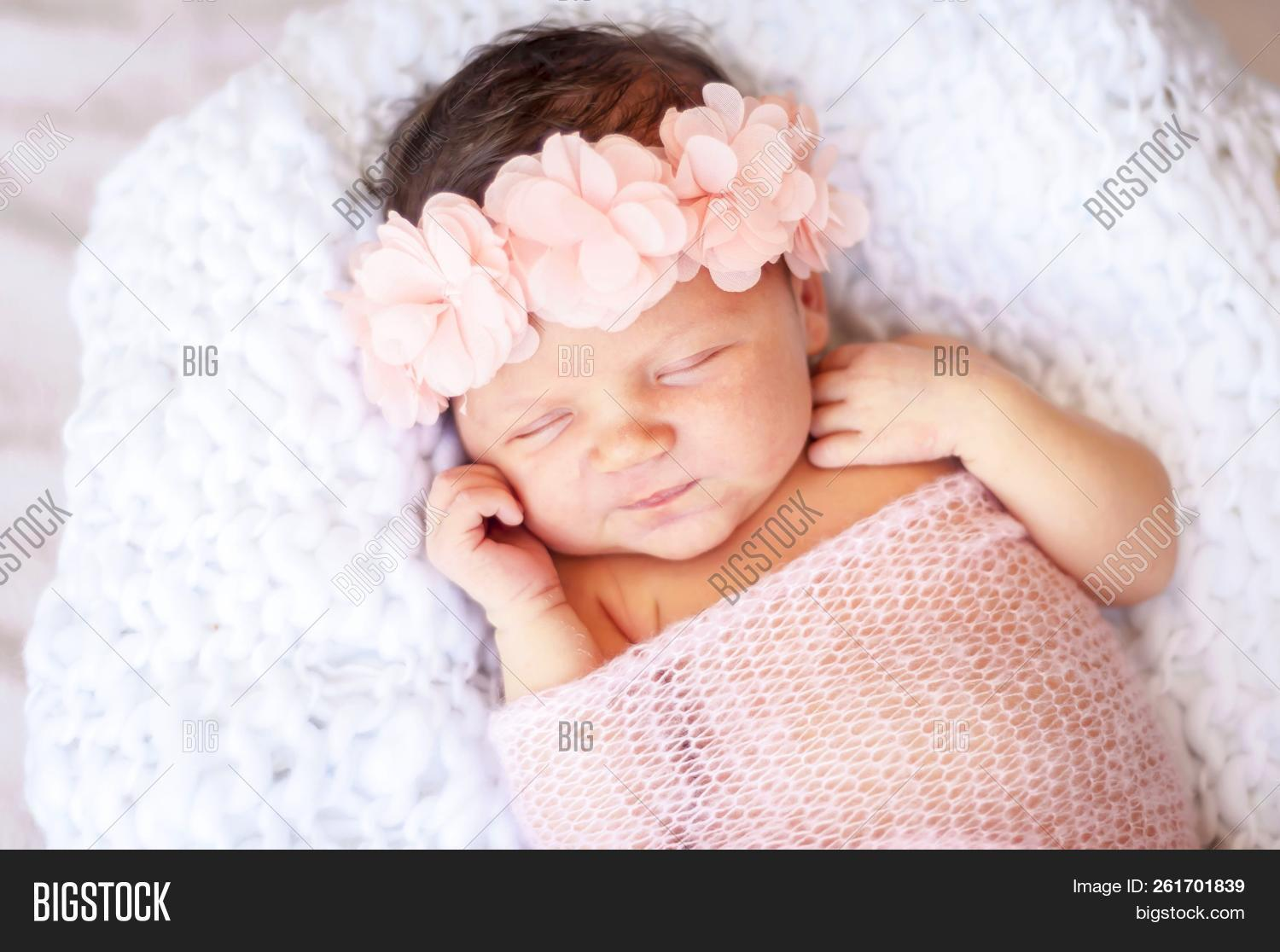 Cute Adorable Newborn Image Photo Free Trial Bigstock