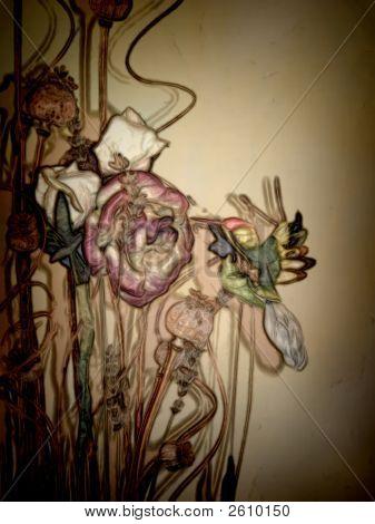 Floral Arrangment Humming Bird