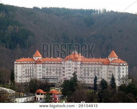 View of Karlovy Vary. Palace