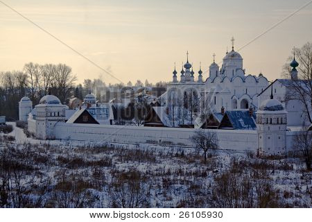 The Golden Ring of Russia. Suzdal. Pokrovskiy monastery poster