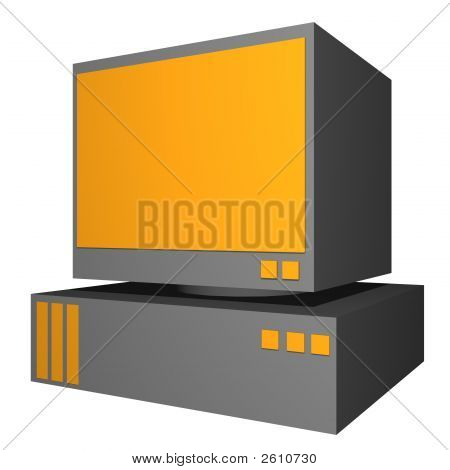 Pc Object For Diagram And Presentation