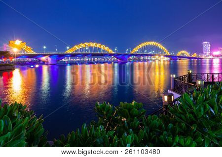 The Dragon Bridge, Da Nang, Vietnam