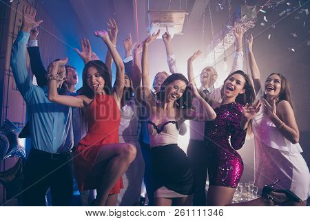 Welcome To The Best Night Party! Leisure, Lifestyle, Careless, Carefree Concept. Luxury, Style, Cool