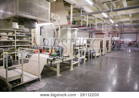Production Of Gypsum Boards