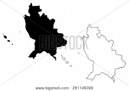 Nayarit (united Mexican States, Mexico, Federal Republic) Map Vector Illustration, Scribble Sketch F