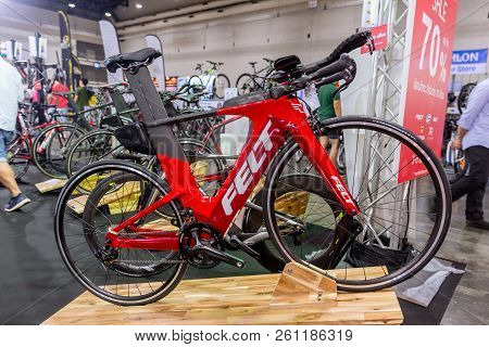 Felt American Bicycle With Time Trial Road Bicycle Sale In International Bangkok Bike 2018. Largest