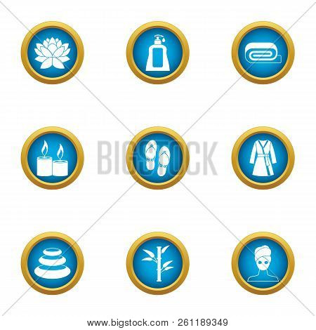 Loosen Icons Set. Flat Set Of 9 Loosen Vector Icons For Web Isolated On White Background