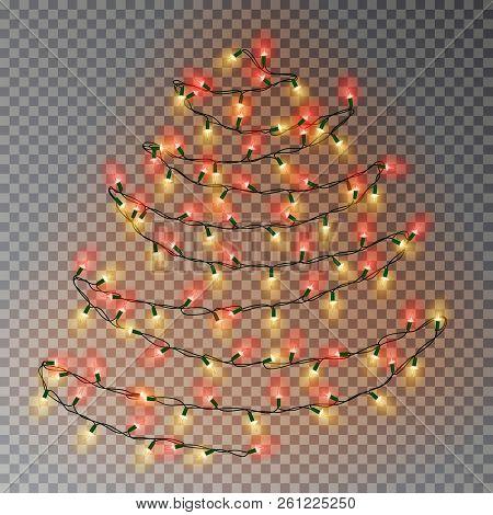 Christmas Color Tree Vector Photo Free Trial Bigstock