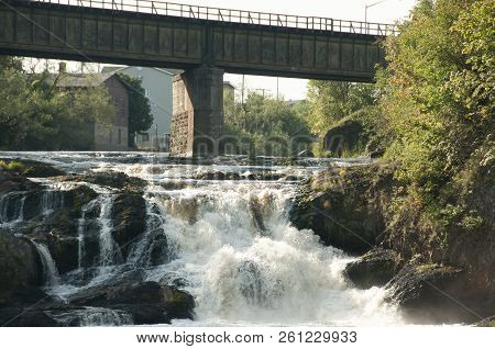 Waterfall - Riviere Du Loup - Quebec