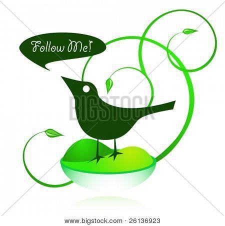 Green Bird - Follow Me